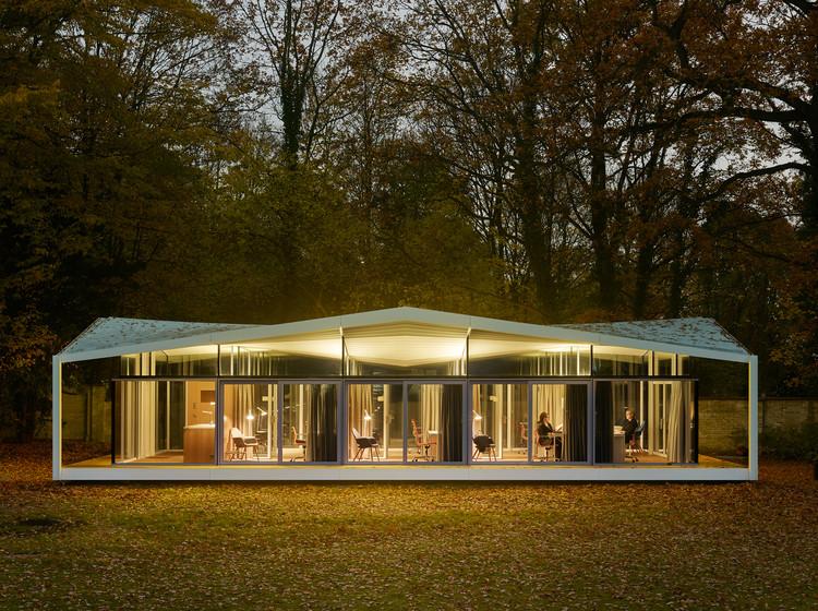 Fellows Pavilion - American Academy Berlin  / Barkow Leibinger, © Stefan Müller