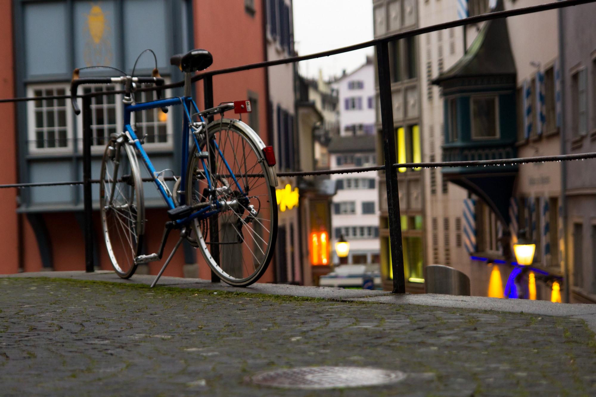 """Zurique: """"Você é bem-vindo na cidade, mas seu carro não"""", © Thomas8047 vía flickr. Used under <a href='https://creativecommons.org/licenses/by-sa/2.0/'>Creative Commons</a>"""