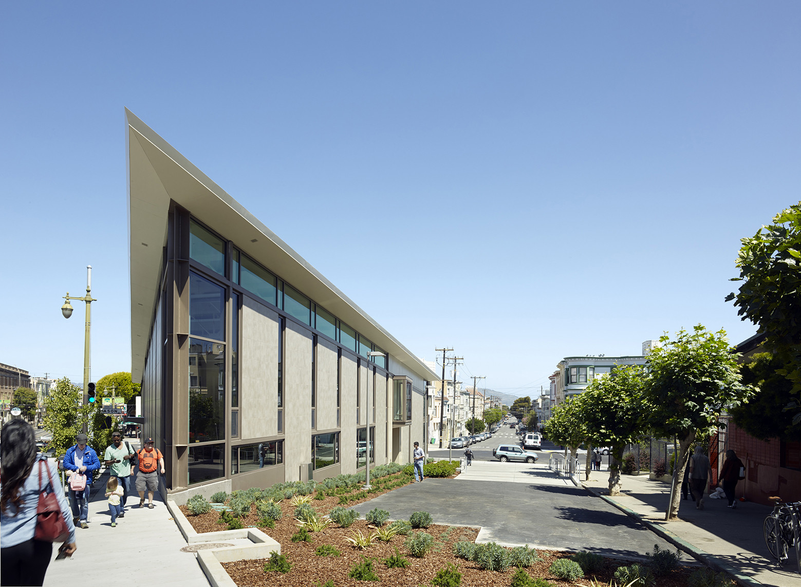 North Beach Branch Library / LMS Architects, Courtesy of LMS Architects