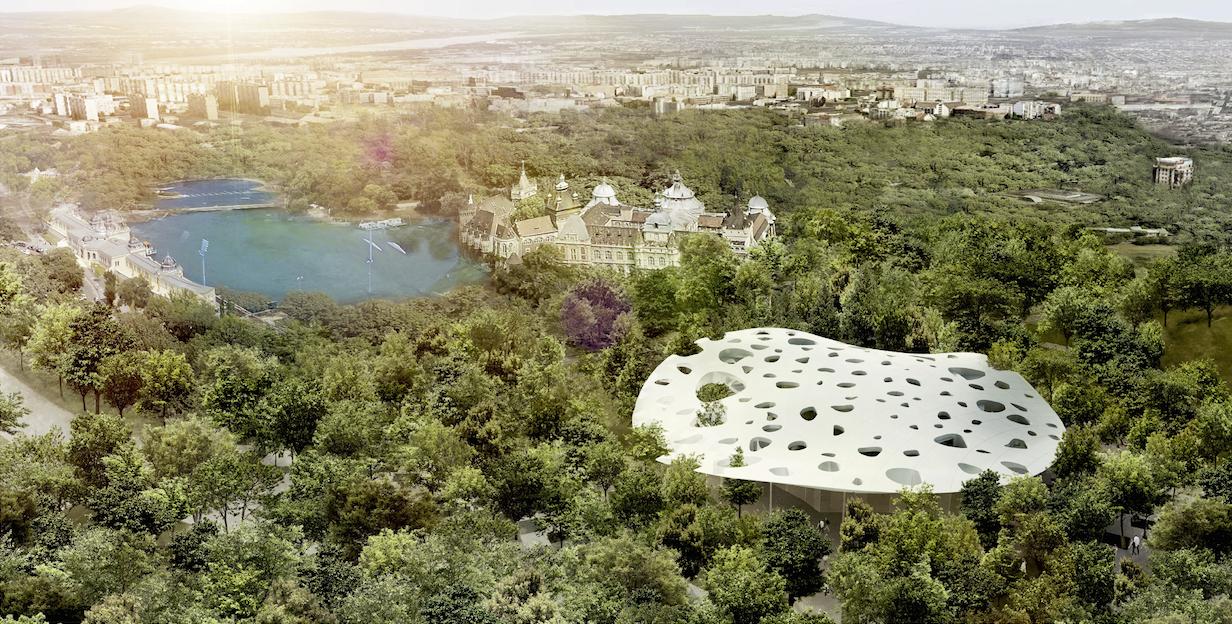 Sou Fujimoto Chosen to Design Liget Budapest's House of Hungarian Music, © Sou Fujimoto Architects, Courtesy of Liget Budapest
