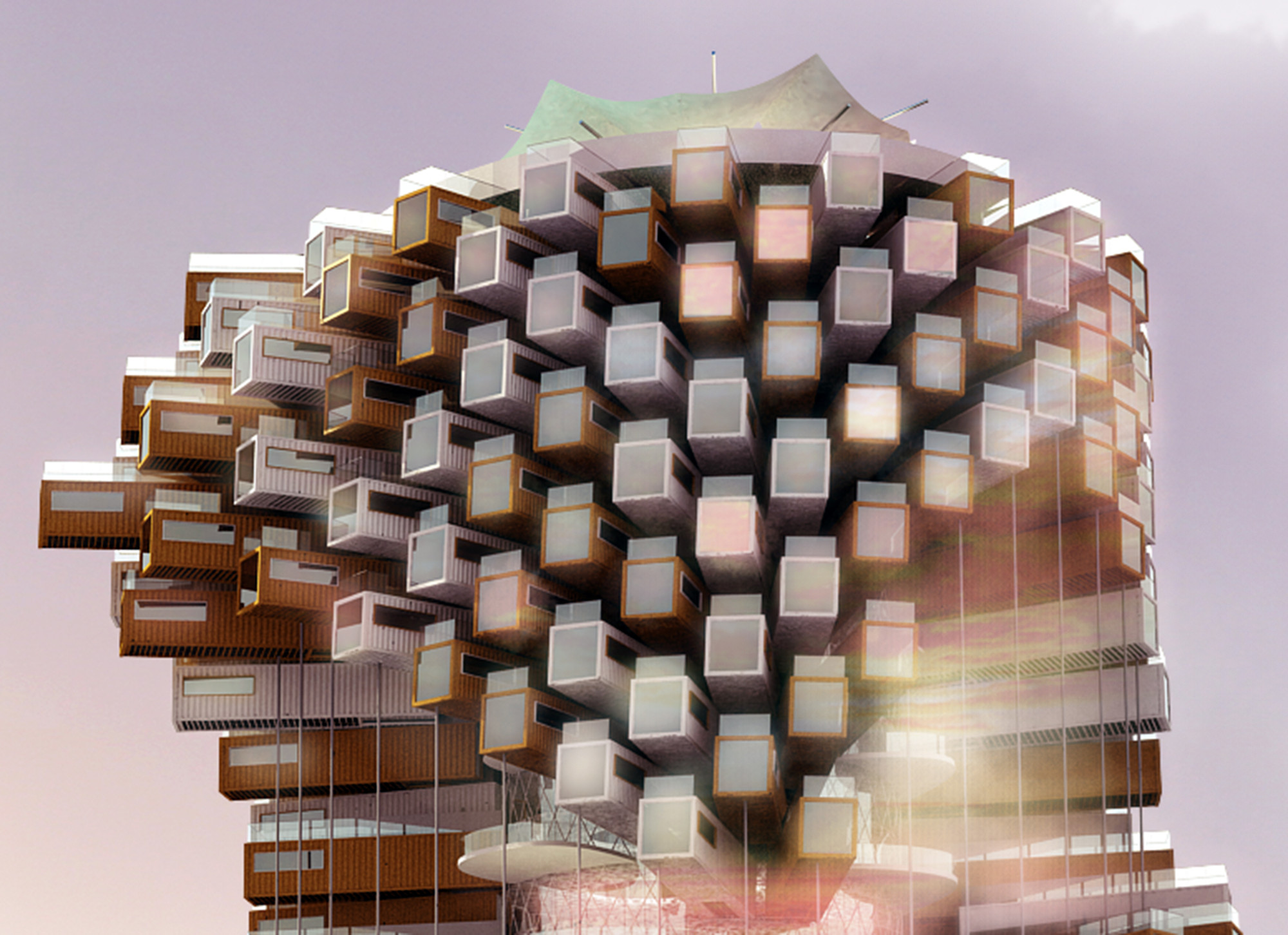 M-Rad Proposes Live-Work Towers to Revitalize Downtown Las Vegas