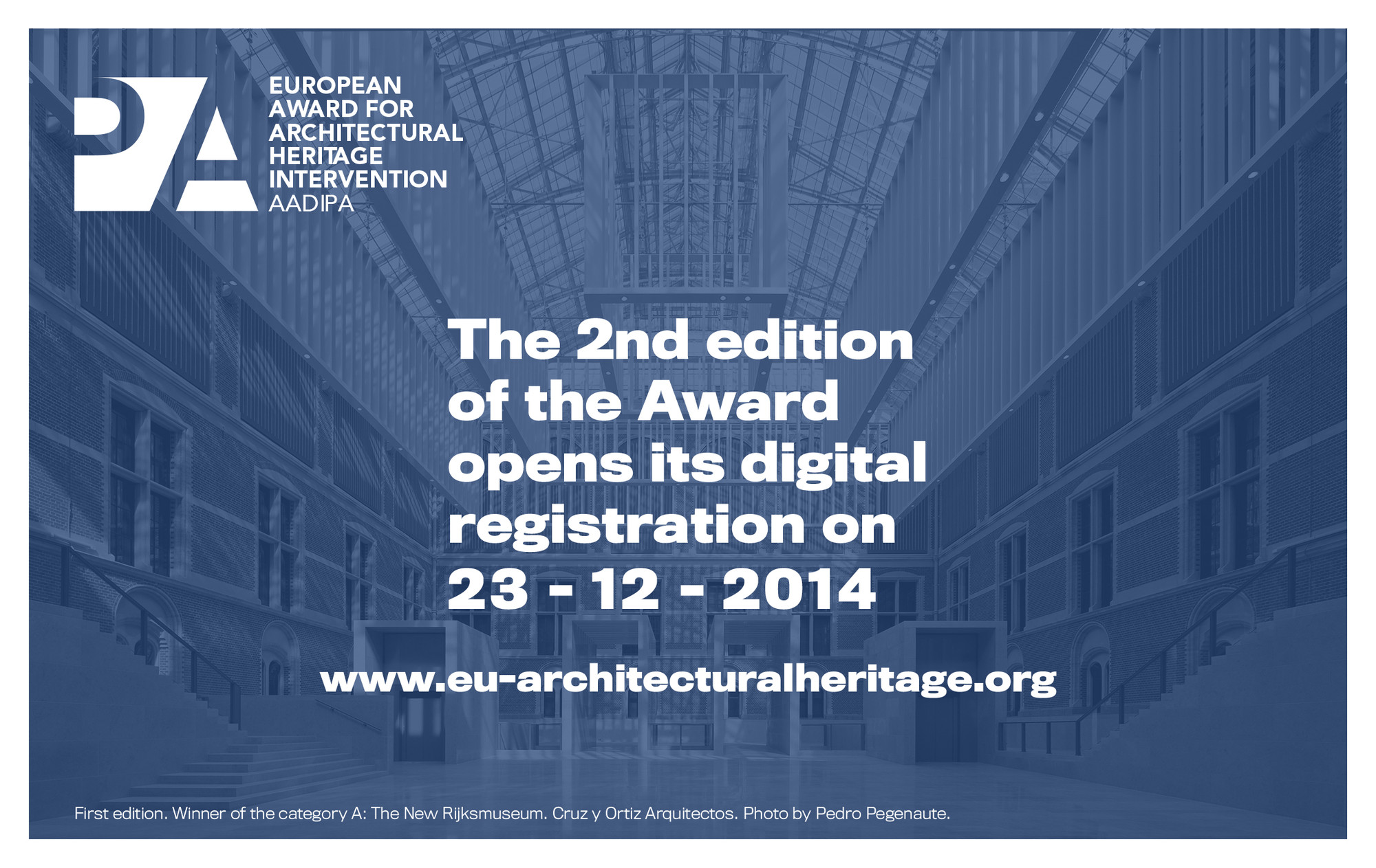 Registration Open: European Award for Architectural Heritage Intervention AADIPA, © European Award for Architectural Heritage Intervention AADIPA