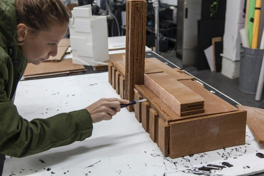 Tate Modern, London, by food artists Caitlin Levin and Henry Hargreaves in production. Image © Henry Hargreaves/Caters News Agency