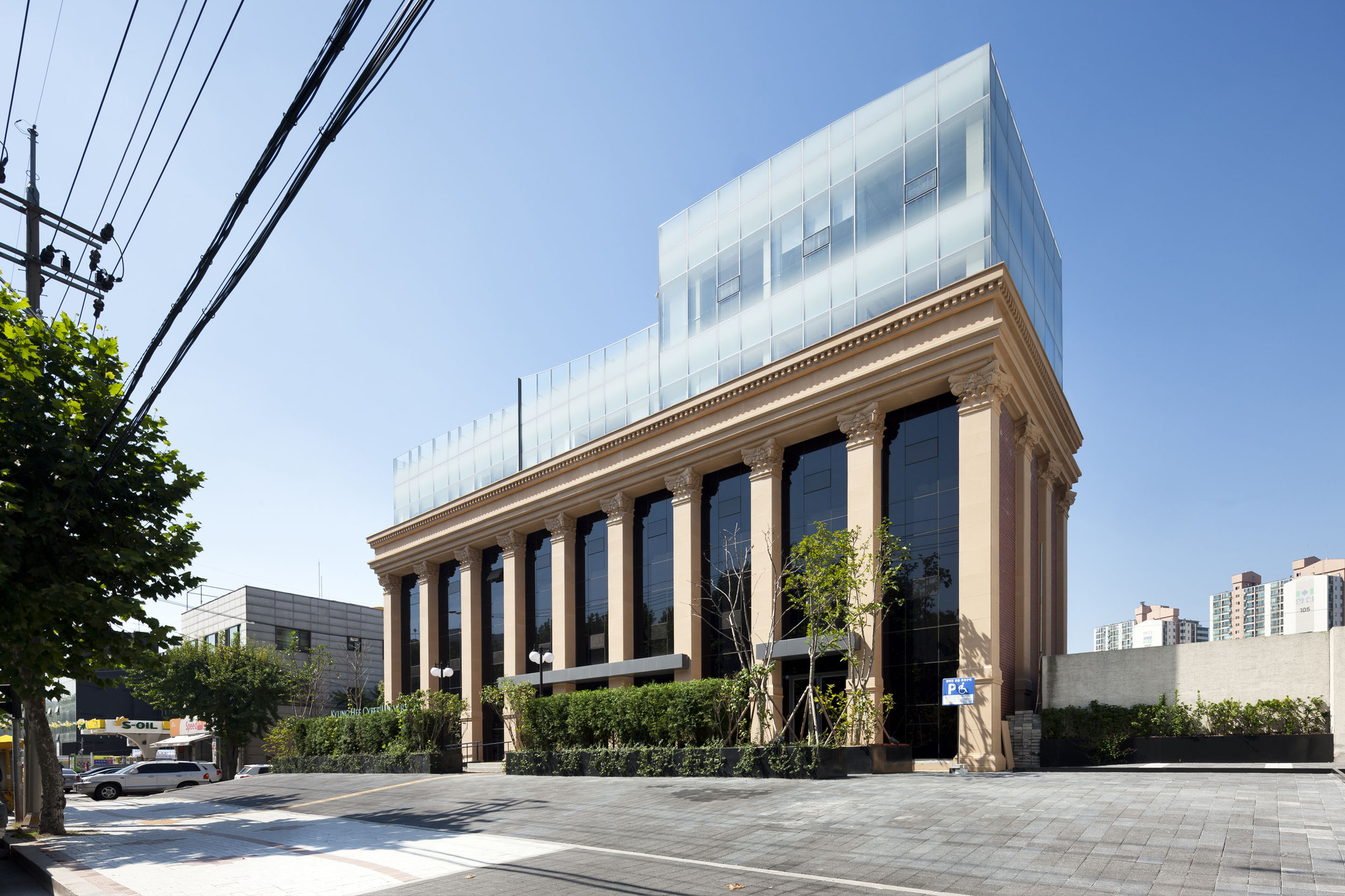 Kyung Hee Cyber University ACAPeace Building Renovation / Chiasmus Partners, © Youngchae Park