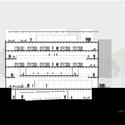 Corte C. Image Cortesia de Estudio BRA Arquitetura