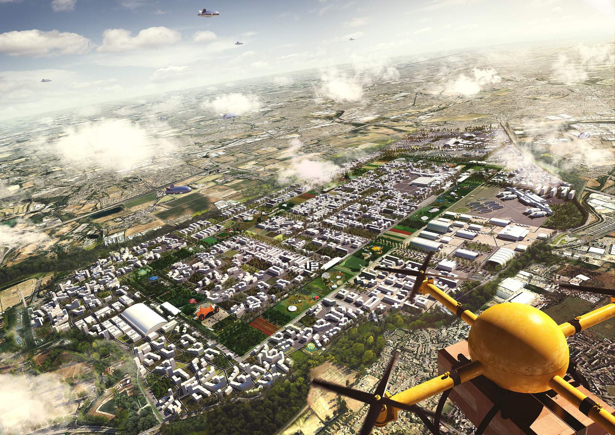 The Three Dimensional City How Drones Will Impact Future Urban Landscape Hawkins