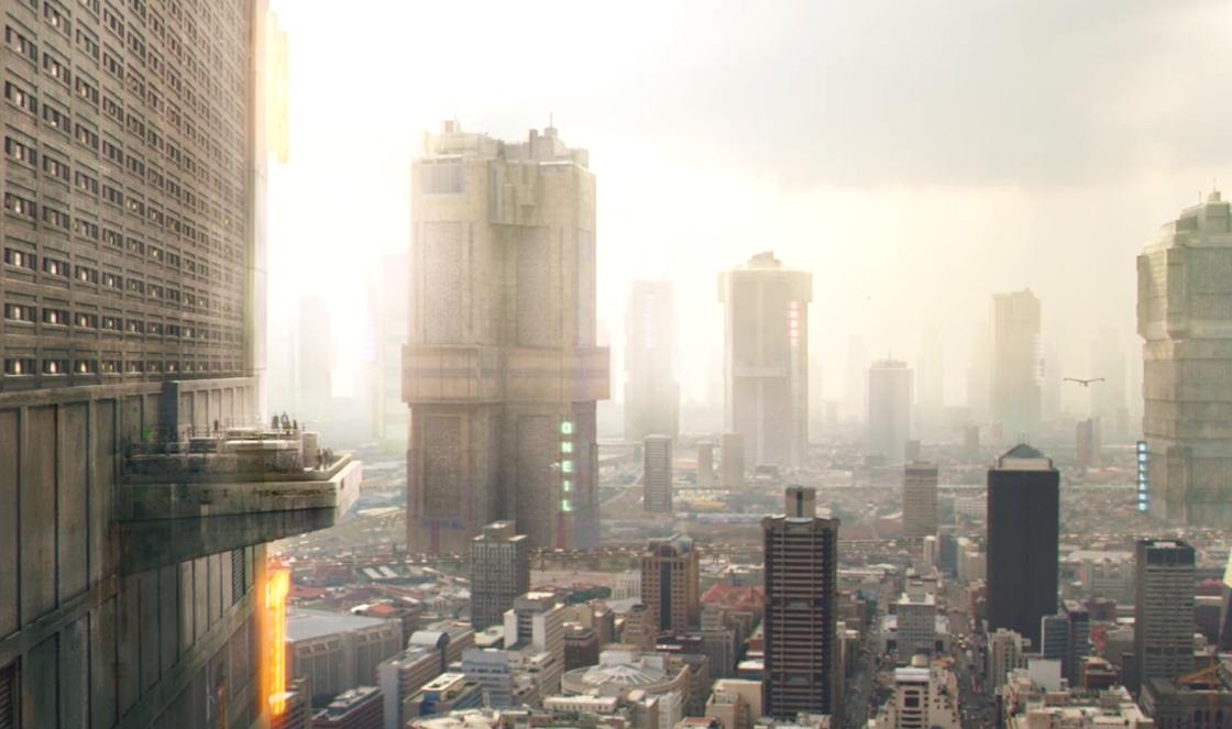 "Cinema e Arquitetura: ""Dredd (2012)"""