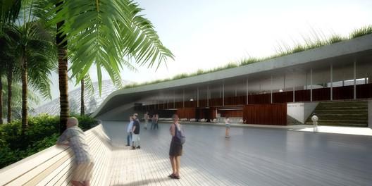 Foyer. Image Cortesia de Urbana Arquitetura