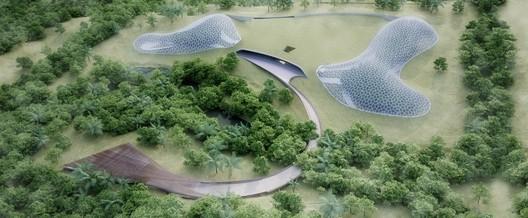 Implantação. Image Cortesia de Urbana Arquitetura