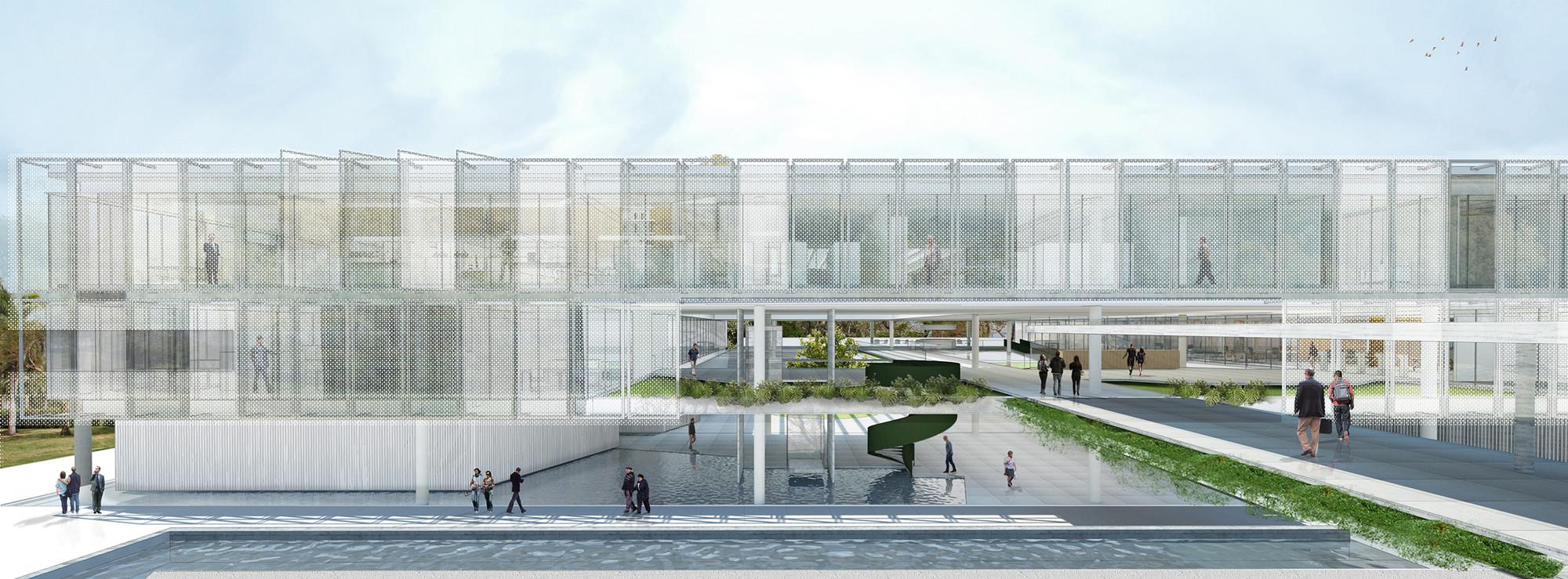 Menção Honrosa no Concurso Anexo da Câmara Municipal de Porto Alegre / Estudio BRA Arquitetura + Mono Arquitetos, Cortesia de Estudio BRA Arquitetura