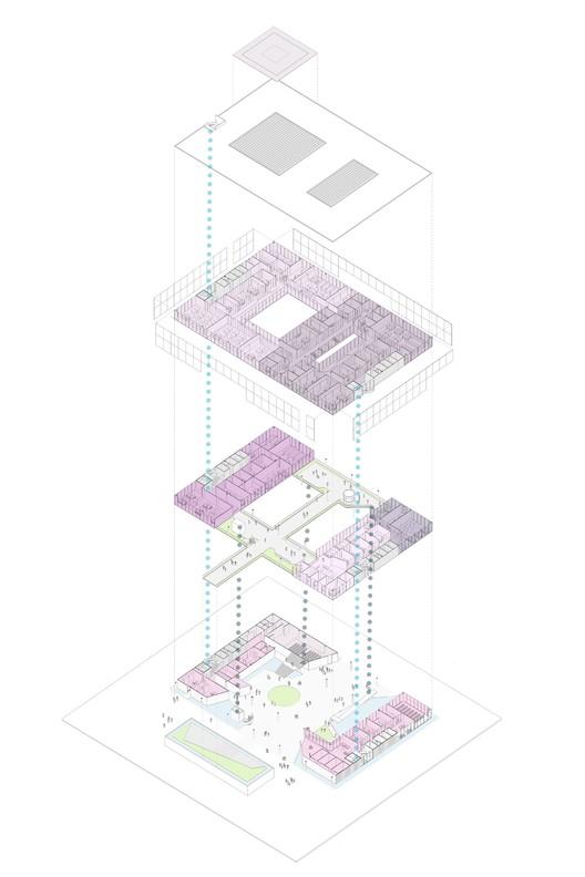 Diagrama explodido. Image Cortesia de Estudio BRA Arquitetura