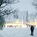 Exterior View- Winter. Image © ARCVS