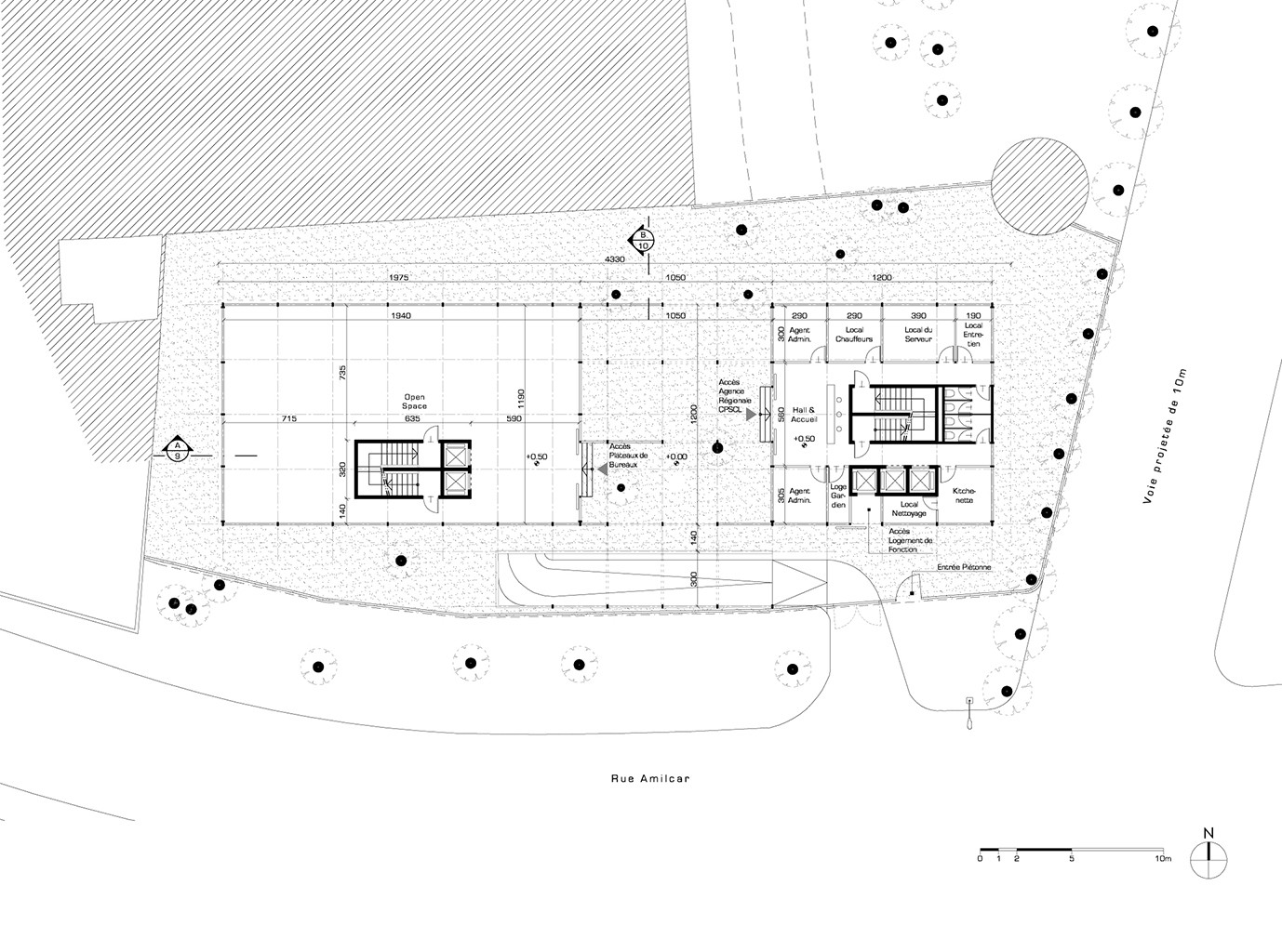 Gallery of hk b architecture designs winning competition for Architecture house design competitions