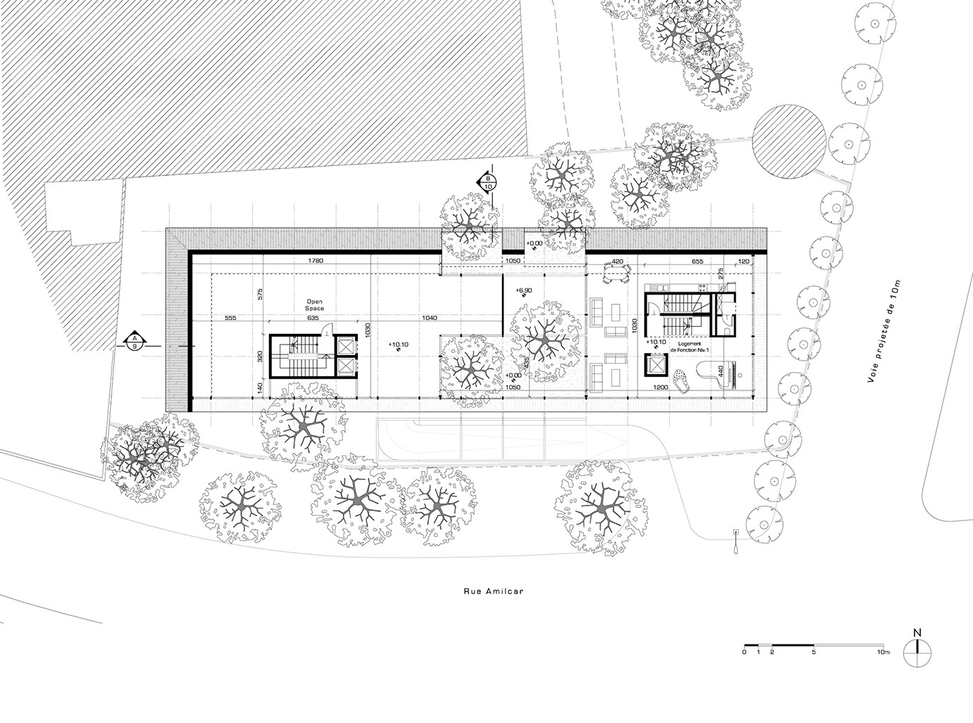 Typical Floor Plan Gallery Of Hk B Architecture Designs Winning Competition