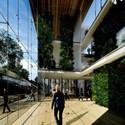 Atrium. Image © Kengo Kuma and Associates
