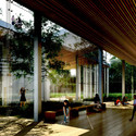 Reception Area. Image © Kengo Kuma and Associates