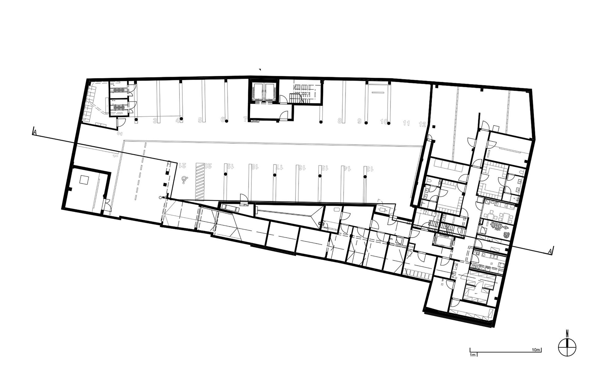 Gallery of puro hotel asw architekci ankiersztajn stankiewicz wro ski 12 - Design a basement floor plan ...