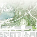 Planta do parque. Imagem © Graeme Massie Architects