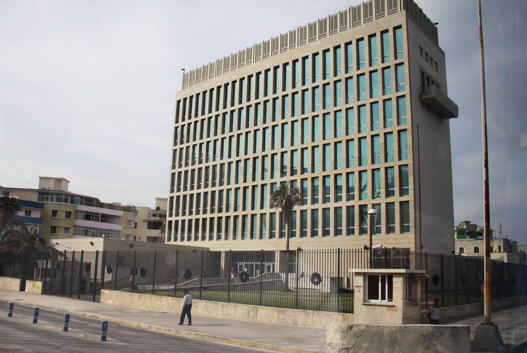 U S Embassy Building Havana Cuba