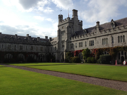 University College Cork's main quadrangle. Image © Flickr CC user Meg Marks