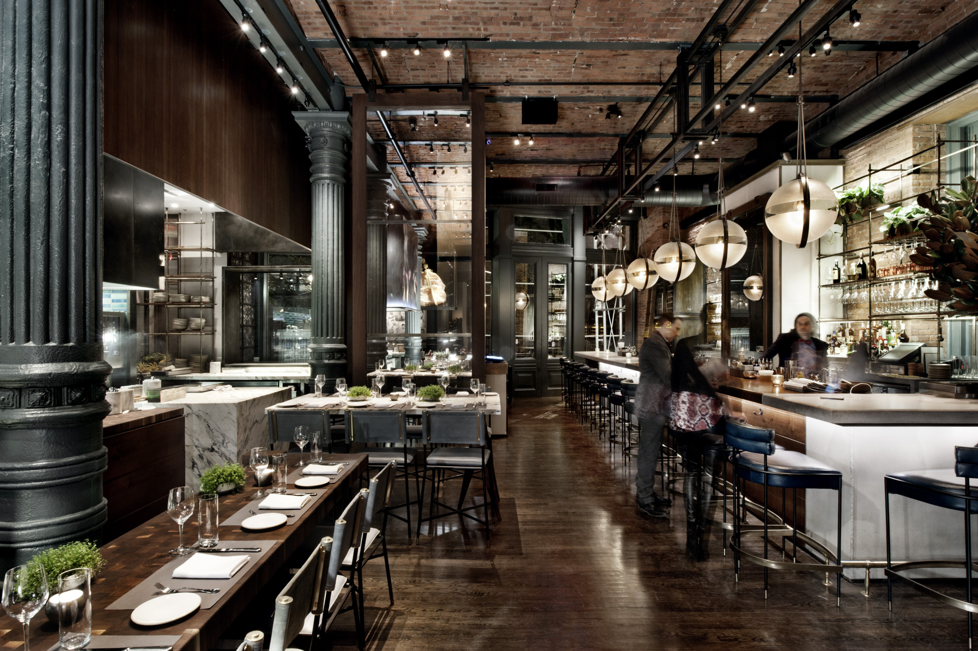 Chefs Club By Food Amp Wine Rockwell Group Archdaily