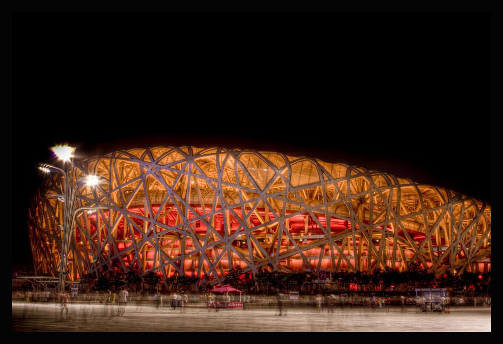 "Herzog & de Meuron Considered for London's Chelsea FC Stadium Expansion, Herzog & de Meuron's ""Bird Nest"" in Beijing. Image © Flickr CC License / DPerstin"