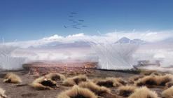 Granja de nubes en Atacama: buscando captar el agua del desierto