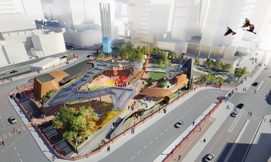 New City Square in Perth Reconnects Urban Landscape, Honors an Indigenous  Warrior,Courtesy of - Gallery Of New City Square In Perth Reconnects Urban Landscape