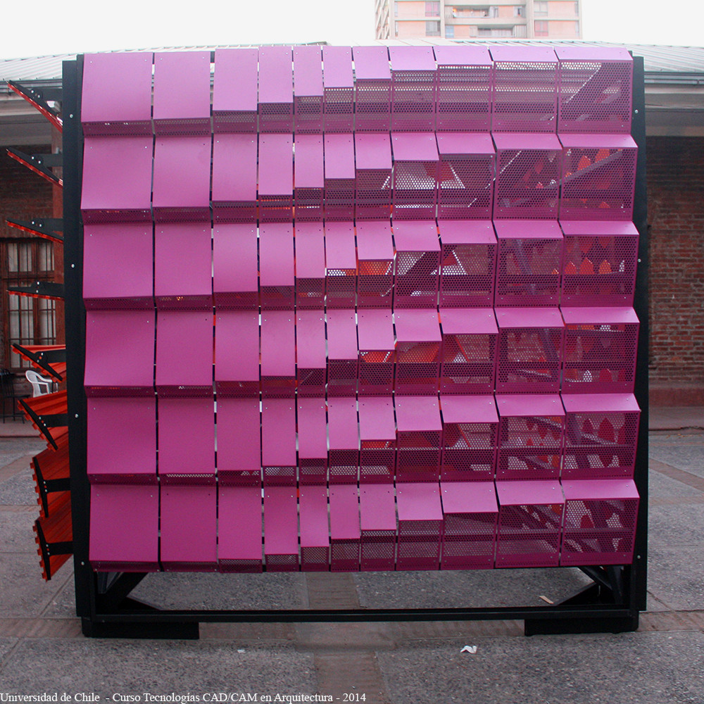 En detalle fachadas param tricas fau universidad de - Productos para impermeabilizar fachadas ...