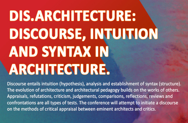 architectural discourse Sven verbruggen participates in the architectural discourse with work in pratice and theoretical work that contributes to a critical reflection on the discourse.