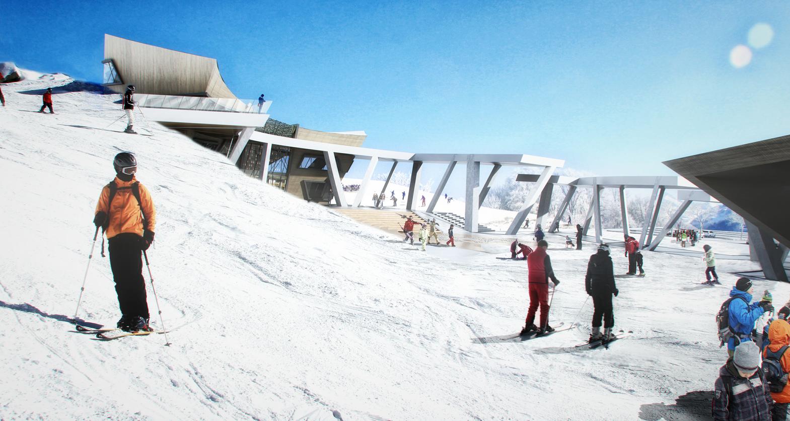 Daniel Libeskind lanza el diseño para el centro de descanso de Vilna en Lituania, © Eyal Shmuel