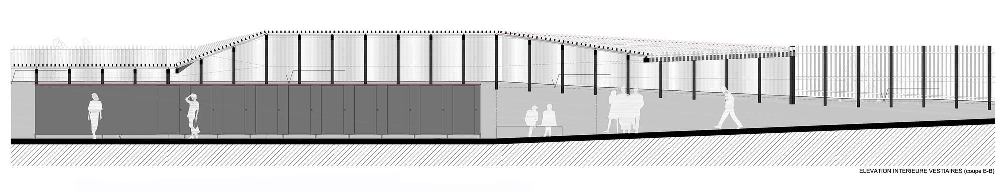 galeria de piscina th tre d 39 eau log architectes 19. Black Bedroom Furniture Sets. Home Design Ideas