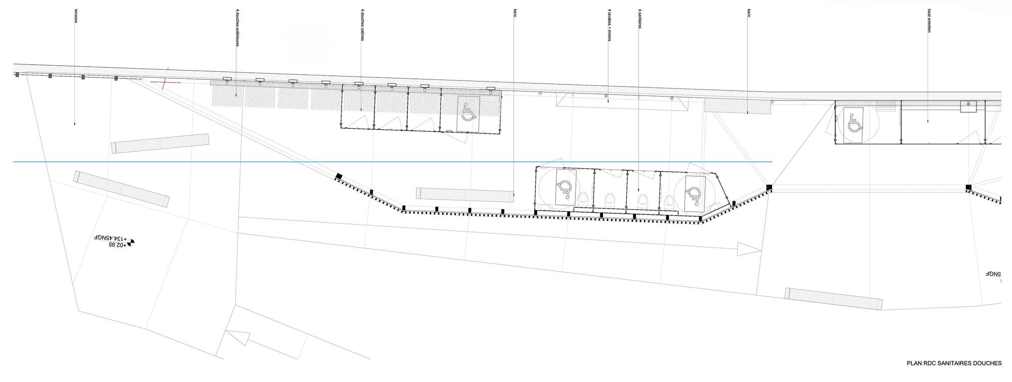 galeria de piscina th tre d 39 eau log architectes 20. Black Bedroom Furniture Sets. Home Design Ideas