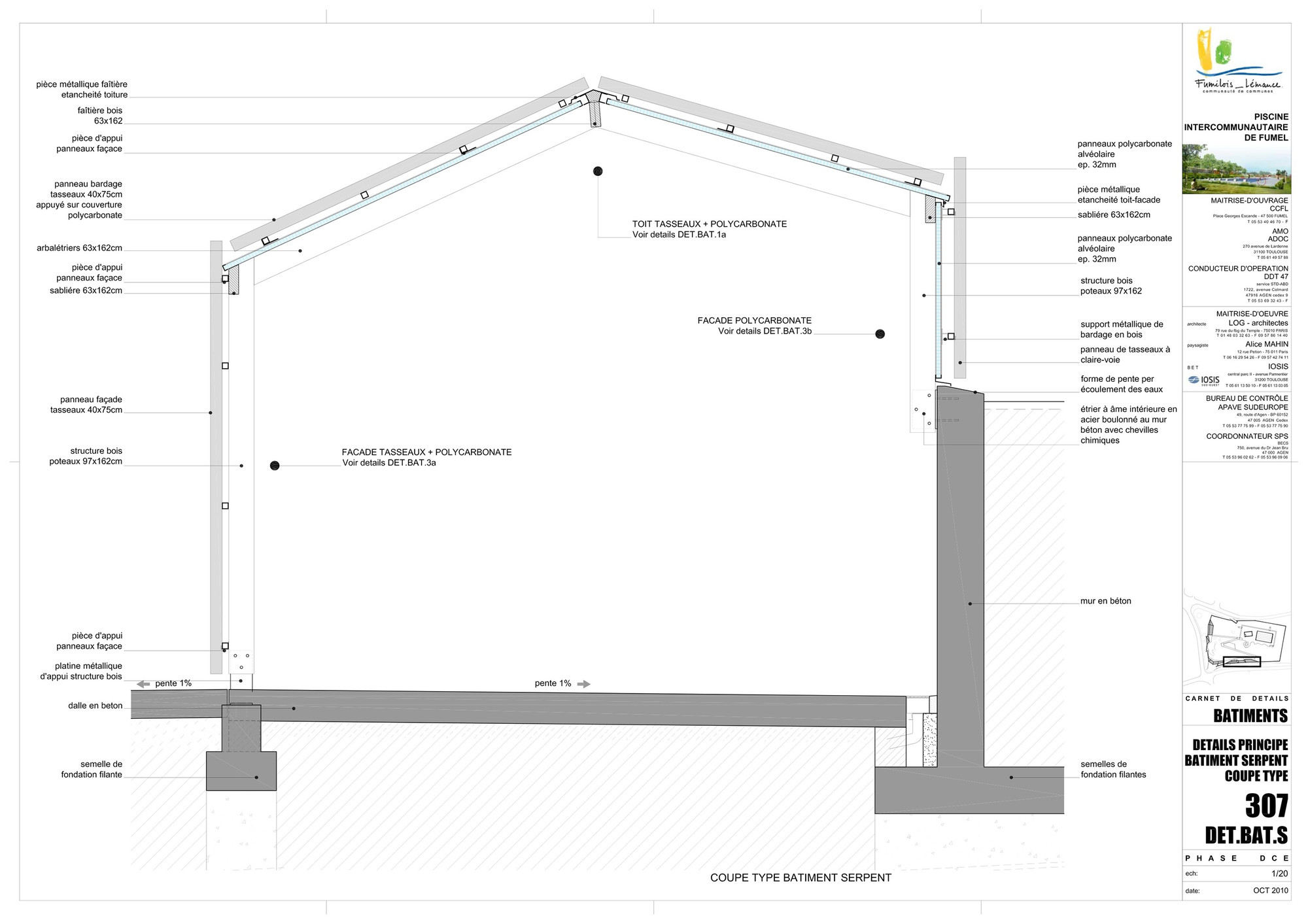 galer a de piscina th tre d 39 eau log architectes 33. Black Bedroom Furniture Sets. Home Design Ideas