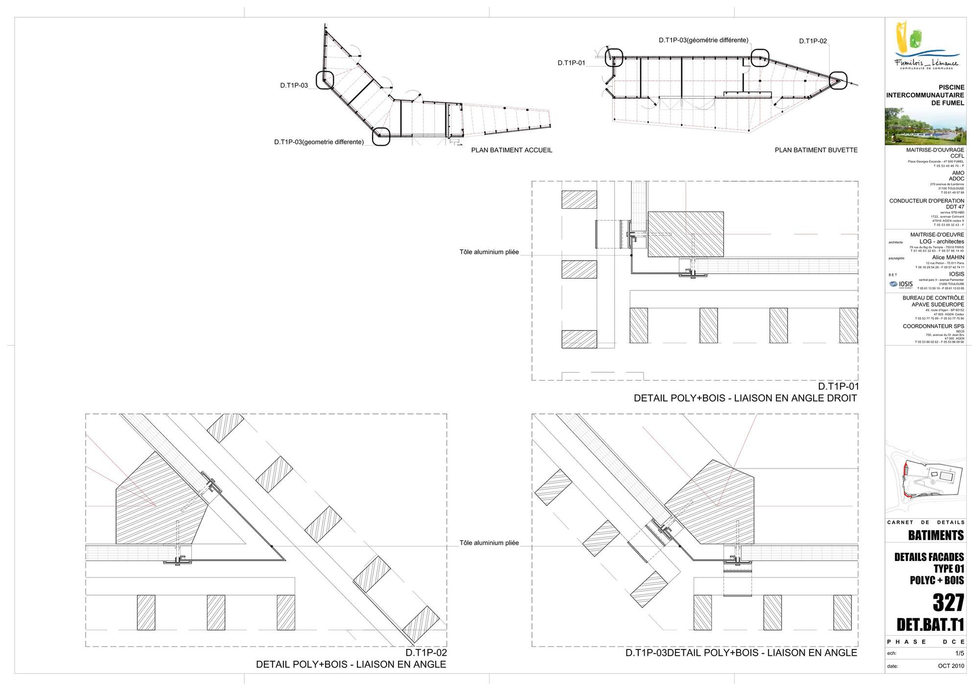 galeria de piscina th tre d 39 eau log architectes 35. Black Bedroom Furniture Sets. Home Design Ideas