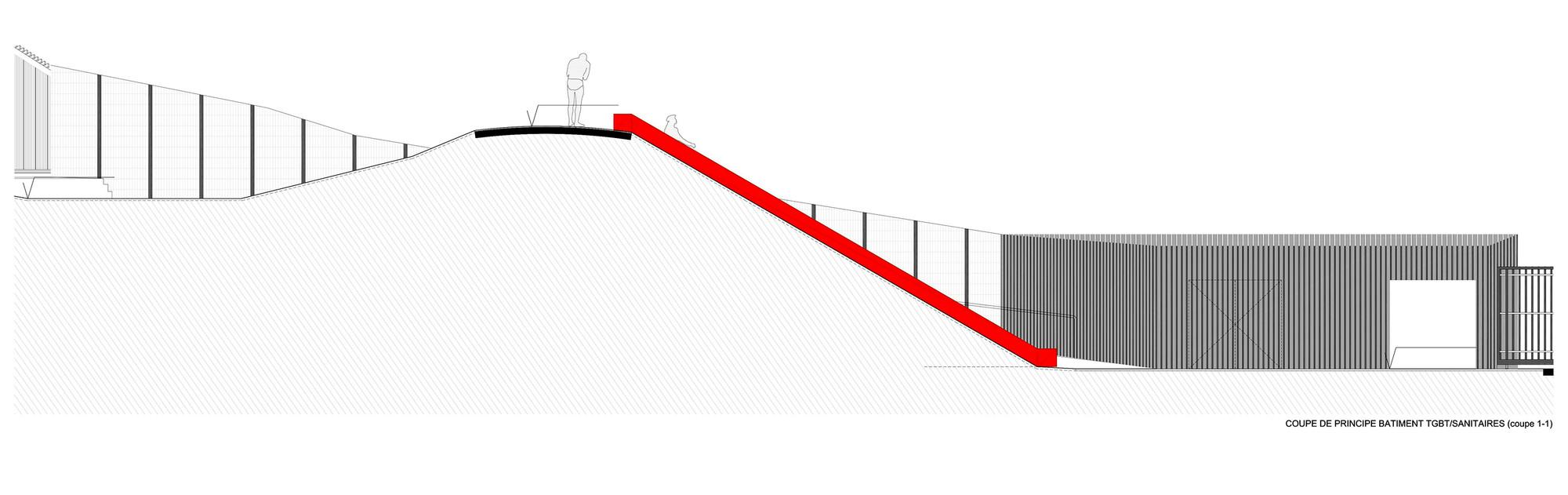 galeria de piscina th tre d 39 eau log architectes 30. Black Bedroom Furniture Sets. Home Design Ideas