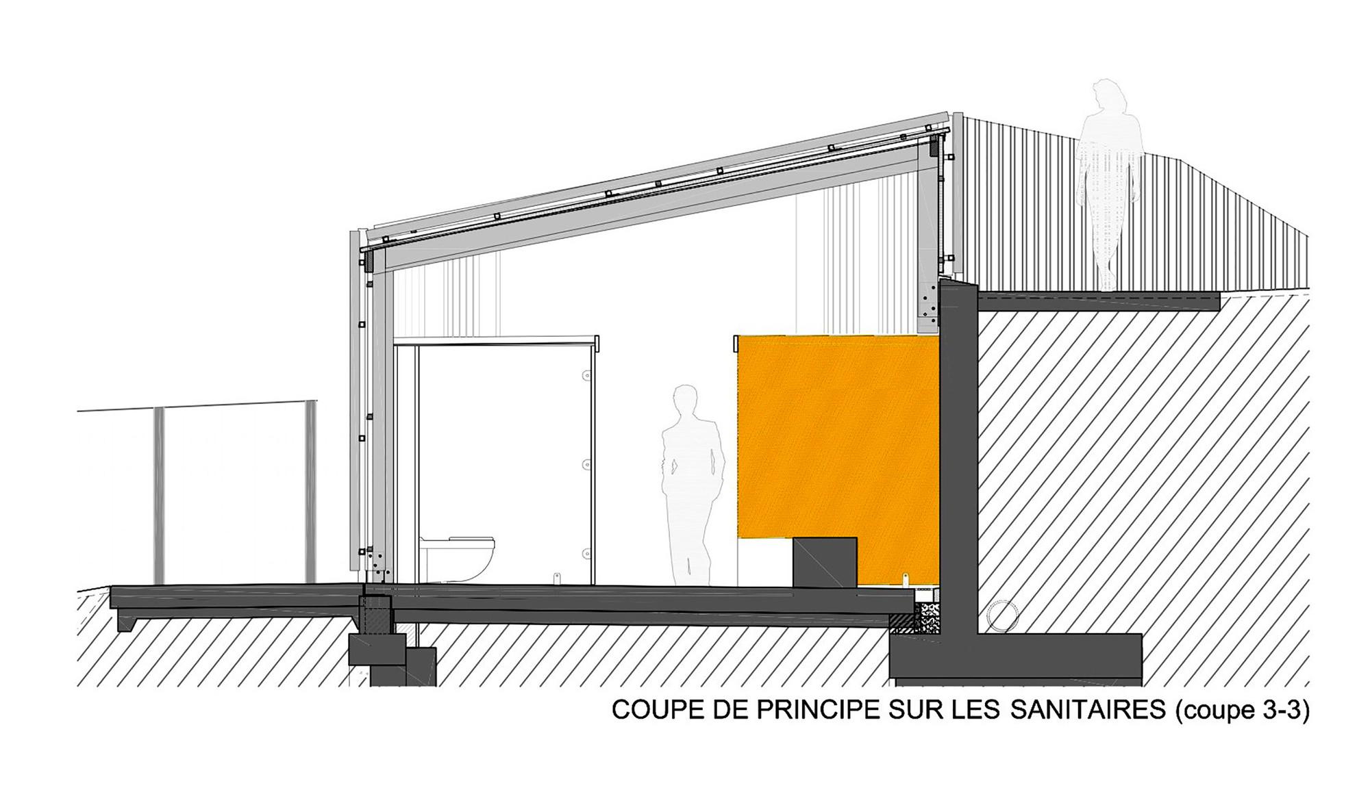 galeria de piscina th tre d 39 eau log architectes 22. Black Bedroom Furniture Sets. Home Design Ideas