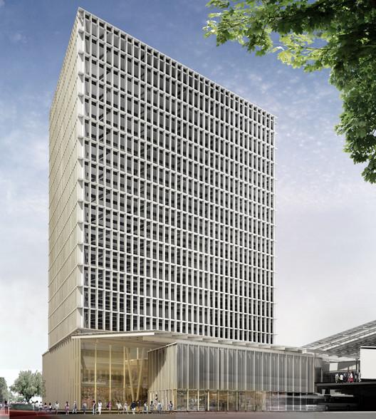 Estación de Transferencia Multimodal Cuatro Caminos / CC Arquitectos + JSa, Cortesia de CC Arquitectos