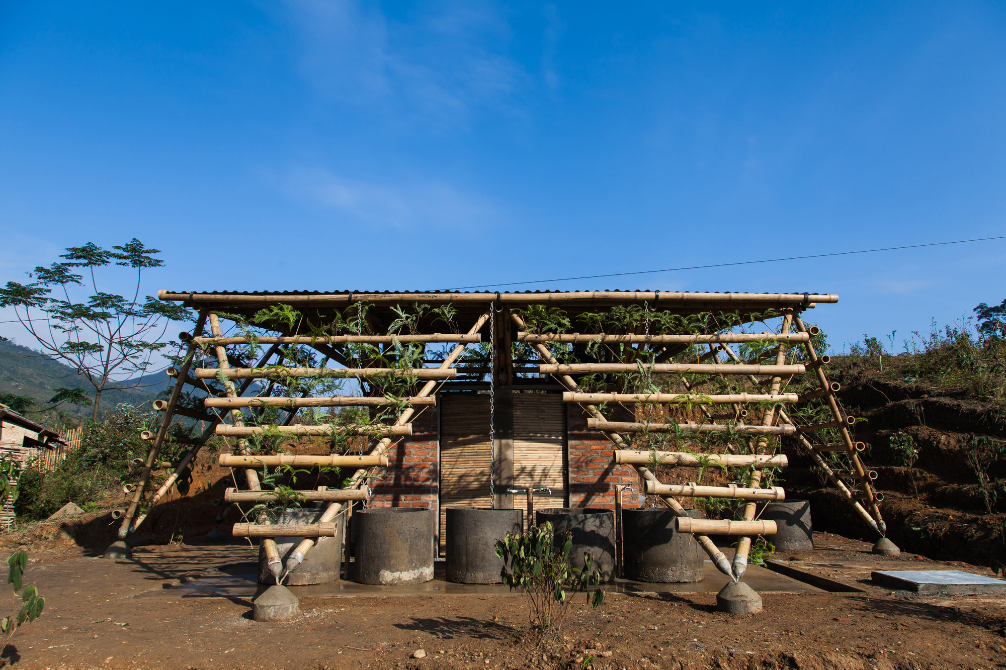 Toigetation / H&P Architects , © Doan Thanh Ha