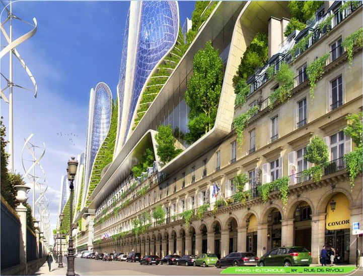 Vincent callebaut 39 s 2050 vision of paris as a smart city for Projet architecture pdf