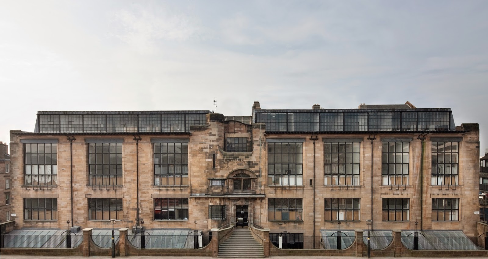 Five Practices Shortlisted To Restore Mackintosh's Glasgow School Of Art, Glasgow School of Art (before the fire). Image © Alan McAteer