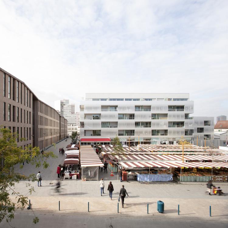 Place Olympe de Gouges et Allée des Ateliers à Pantin / Ateliers 2/3/4/, © Clément Guillaume