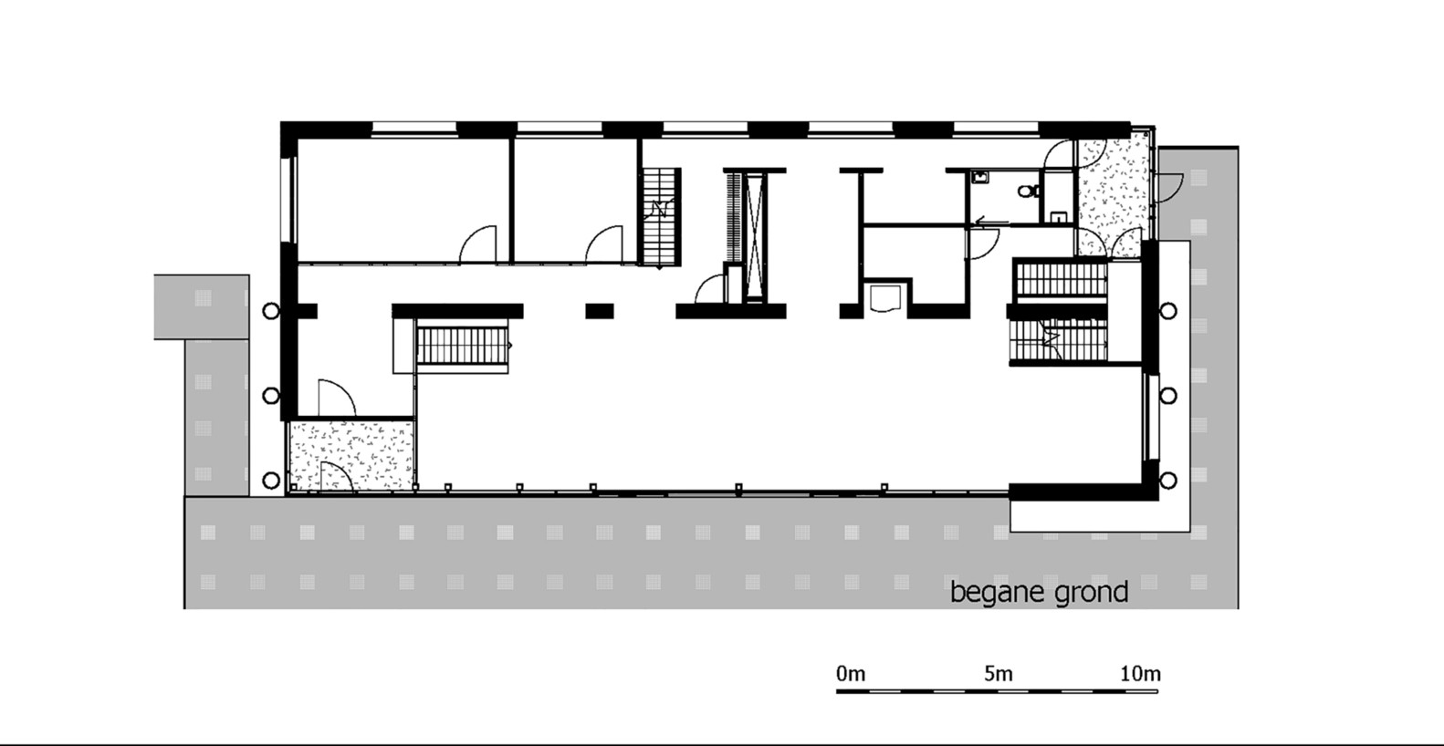 office space floor plan. Gallery Of Floating Office For Waternet Attika Architekten 16 (10) Copy 54af5489e58ece507000005c Floor Plan Small Building Space