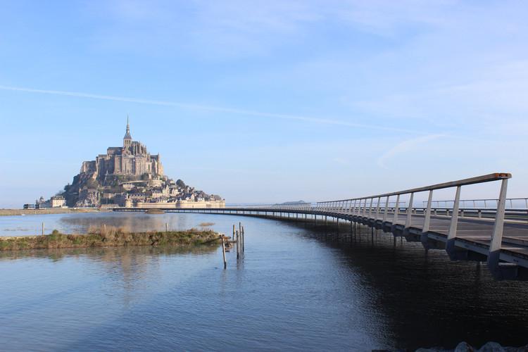 The Jetty to the Mont-Saint-Michel / Dietmar Feichtinger Architectes, © Mathias Neveling