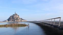 The Jetty to the Mont-Saint-Michel / Dietmar Feichtinger Architectes