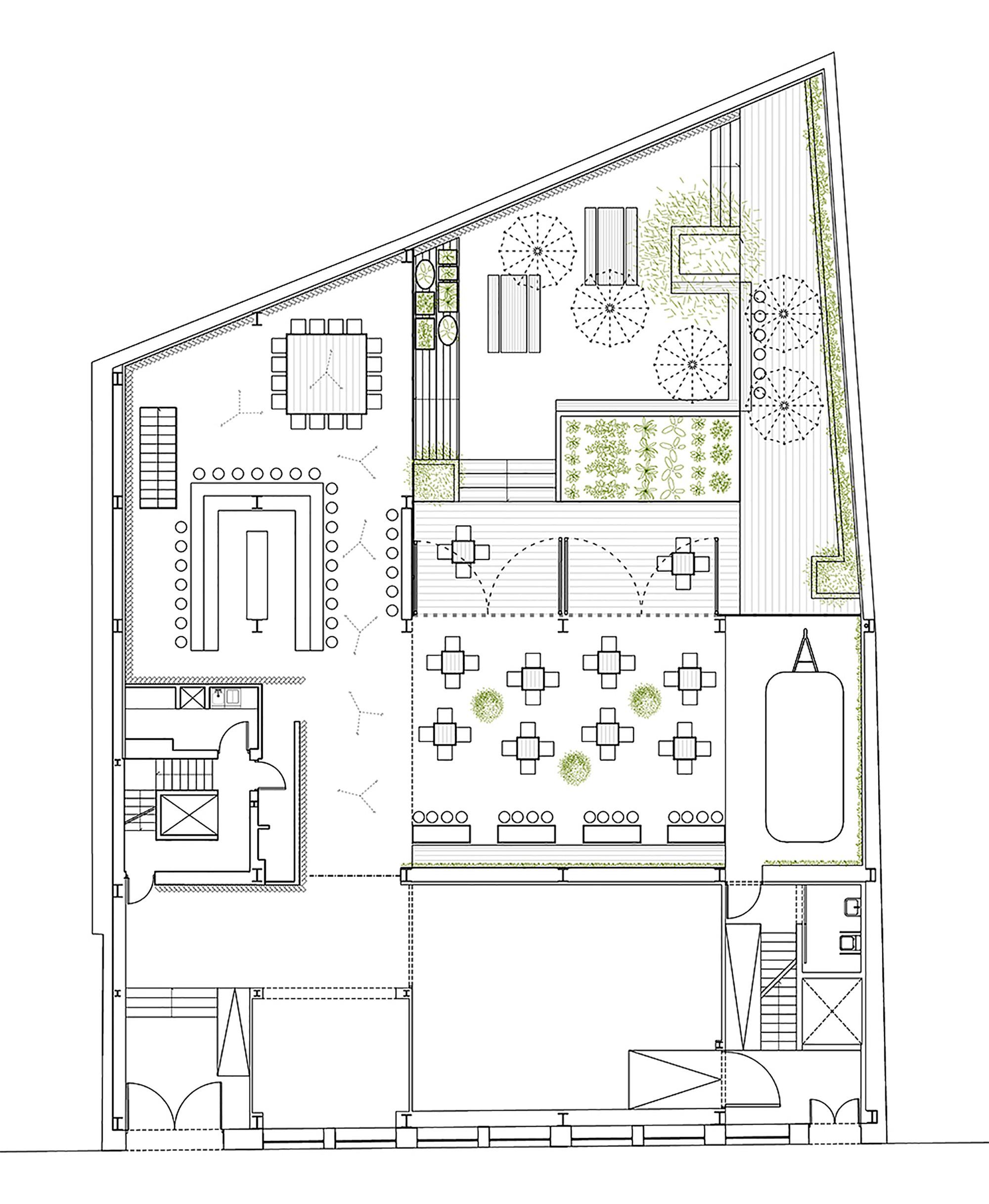 Gallery of urban garden ak a