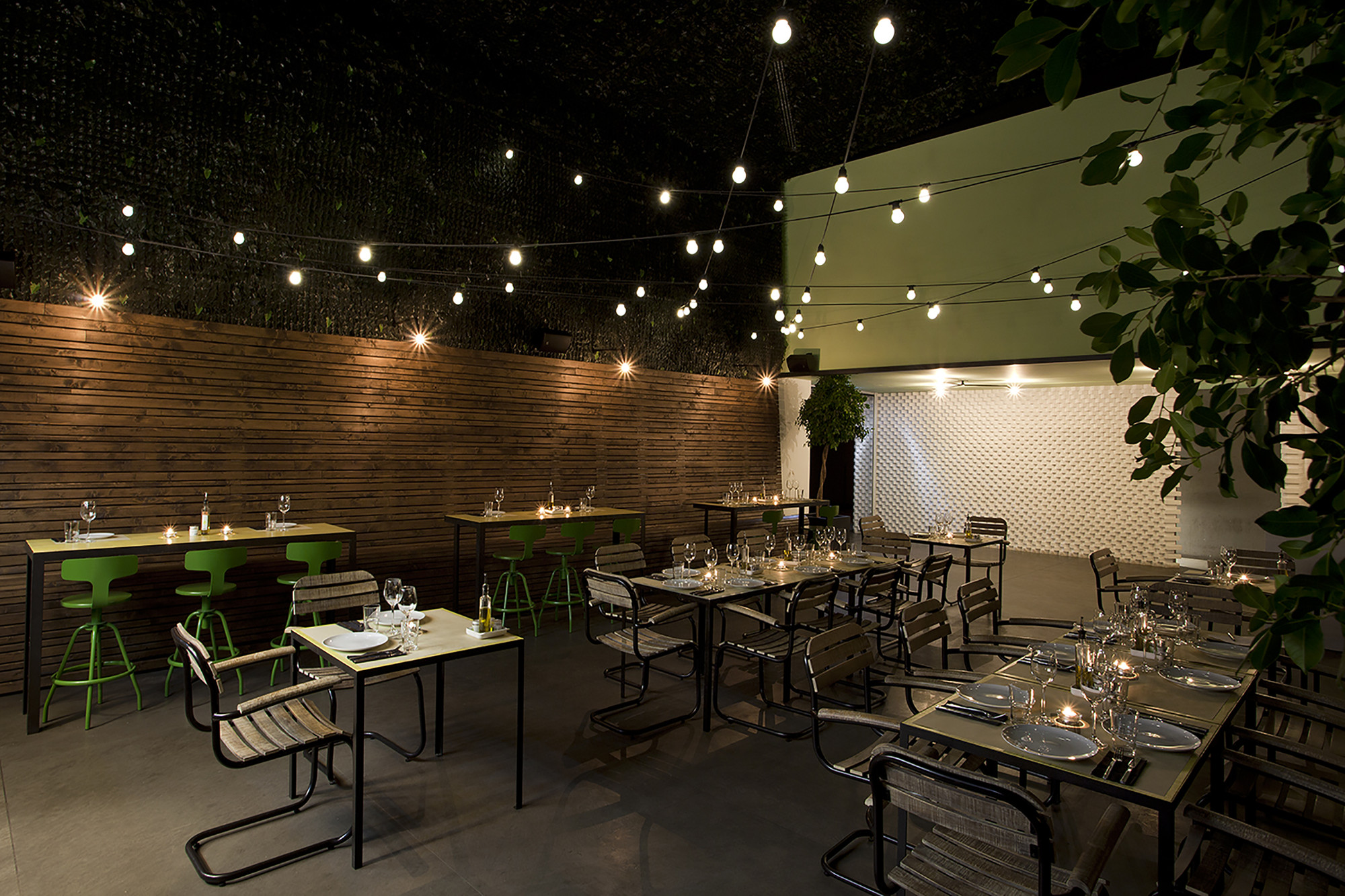 Urban Restaurant Interior Design : Gallery of urban garden ak a