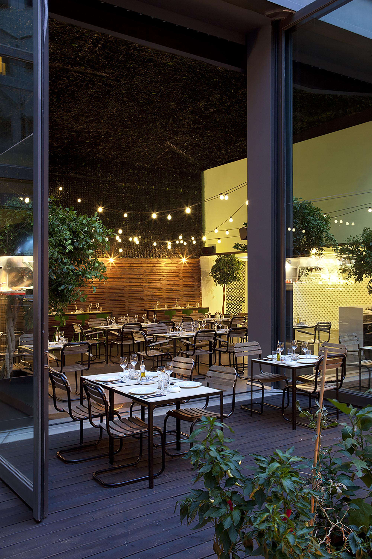 Gallery of 48 urban garden ak a 2 for Garden cafe designs