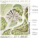 Masterplan da proposta © Naiji Jiao & Seven Xiru Chen