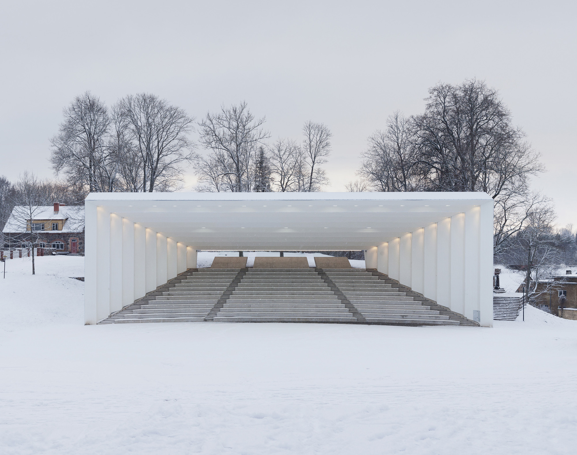 Viljandi Festival Arena / Kadarik Tüür Arhitektid, © Paco Ulman